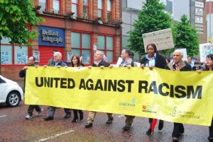 Belfast says 'No to Racism'
