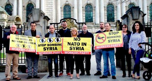 Syran protest190418