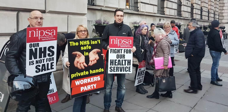 NIPSA protest